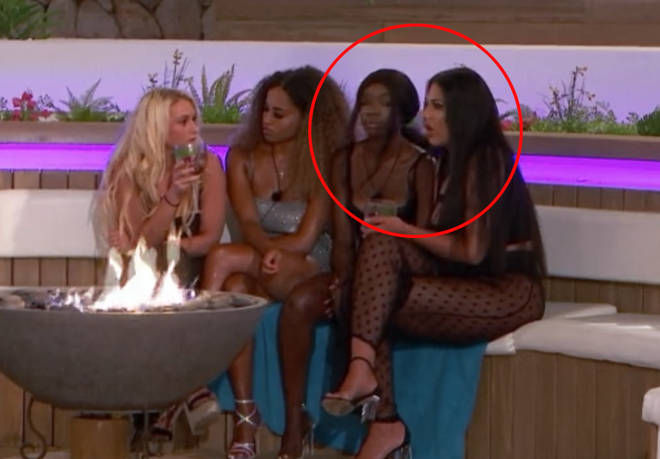 Yewande was originally sat next to Amber