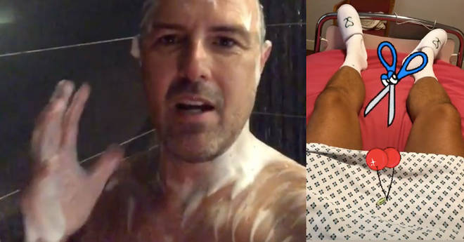 Paddy McGuinness spoke about his decision to have a vasectomy