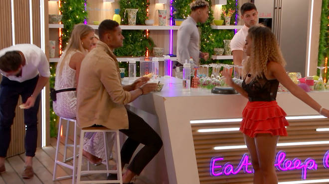 Amber hit out at Danny after Yewande's exit
