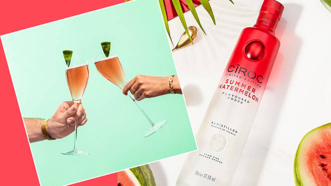 How to jazz up champagne with watermelon-flavoured vodka