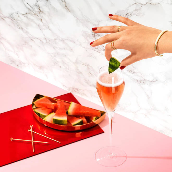 The CÎROC Watermelon Royale is an ideal tipple to enjoy with pals