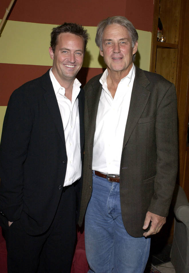 Matthew Perry's real-life dad, John Bennett Perry, made a surprise appearance in Friends.