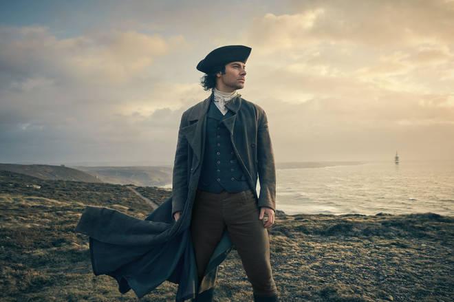 Aidan Turner returns as Captain Ross Poldark