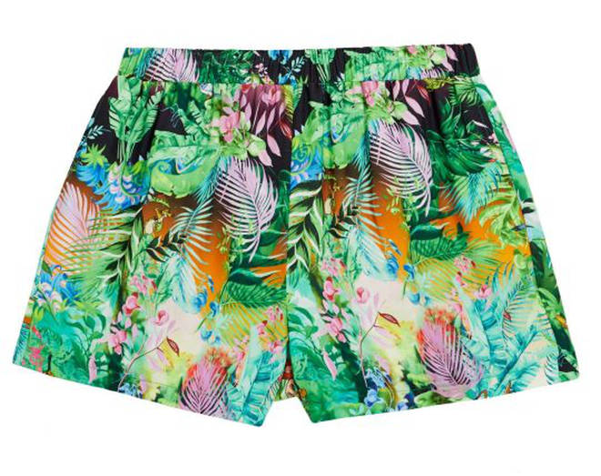 Disney The Lion King x ASOS DESIGN shorts co-ord in jungle print – £25