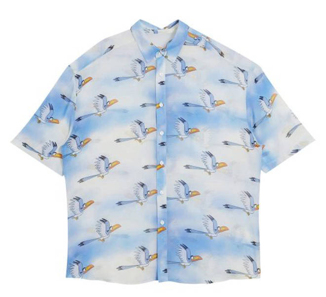 Disney The Lion King x ASOS DESIGN unisex shirt in character print co-ord – £35