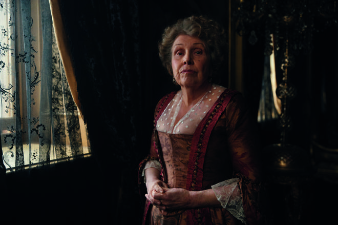 Anne Reid is playing Lady Denham in Sanditon