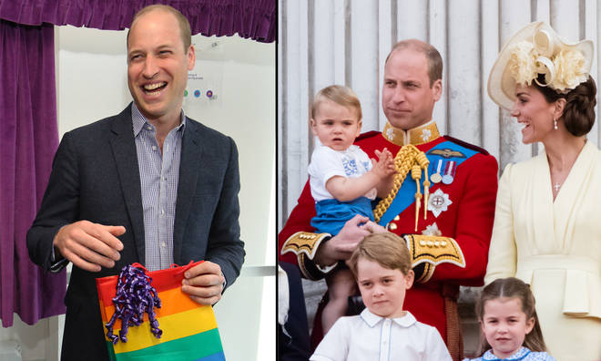Prince William reveals how he'd feel if his kids came out as gay