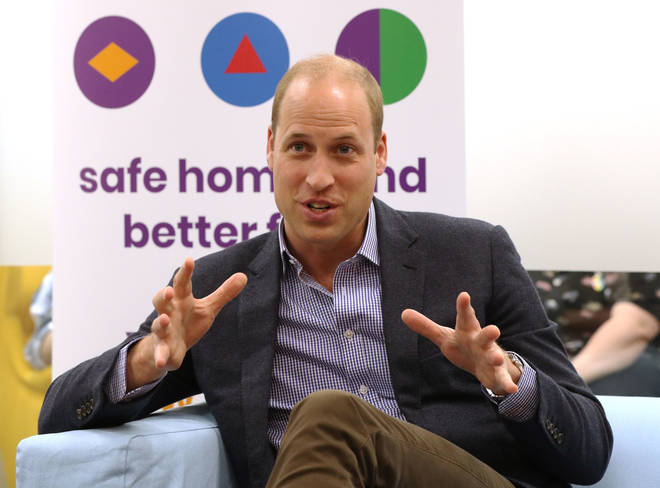 The Duke Of Cambridge visited The Albert Kennedy Trust today to discuss the issue of homelessness among LGBTQ youths