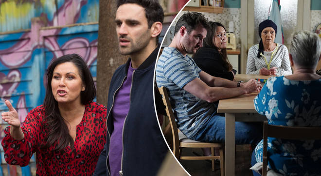 Kat Slater is set to be rocked by betrayal