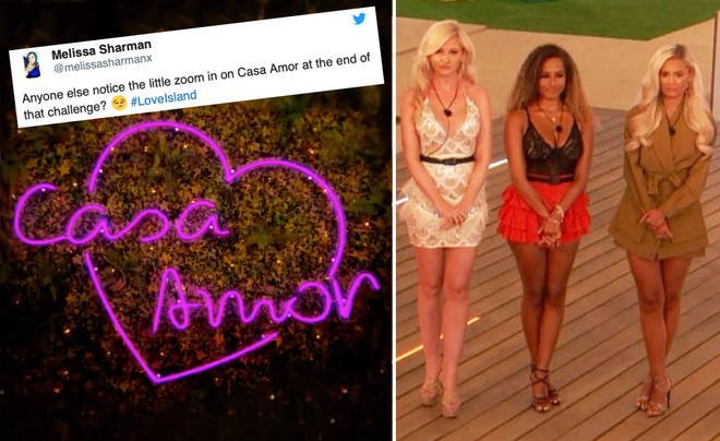 This year's Casa Amor bombshell sees the Love Island GIRLS head to the second villa.