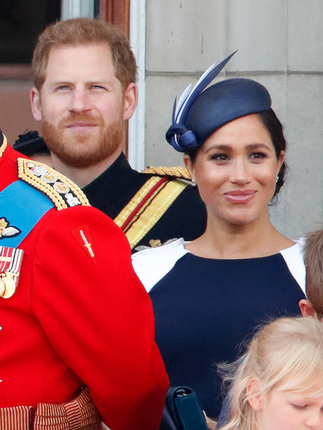 Meghan Markle and Prince Harry earlier this month