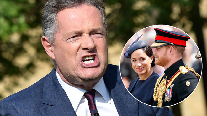 Piers Morgan has likened Meghan Markle to a Kardashian