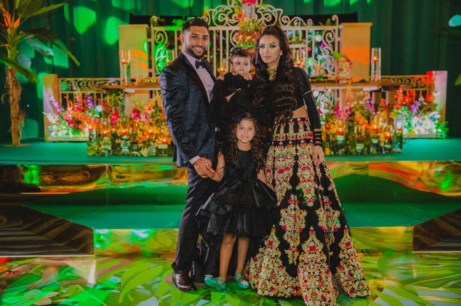 Amir Khan and his family looked adorable at the party