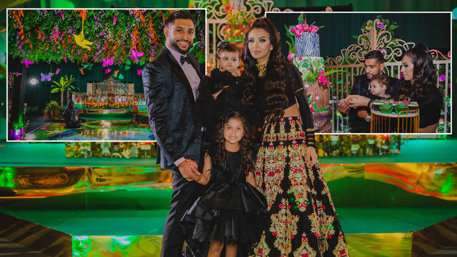Amir Khan threw a £75k party for his daughter