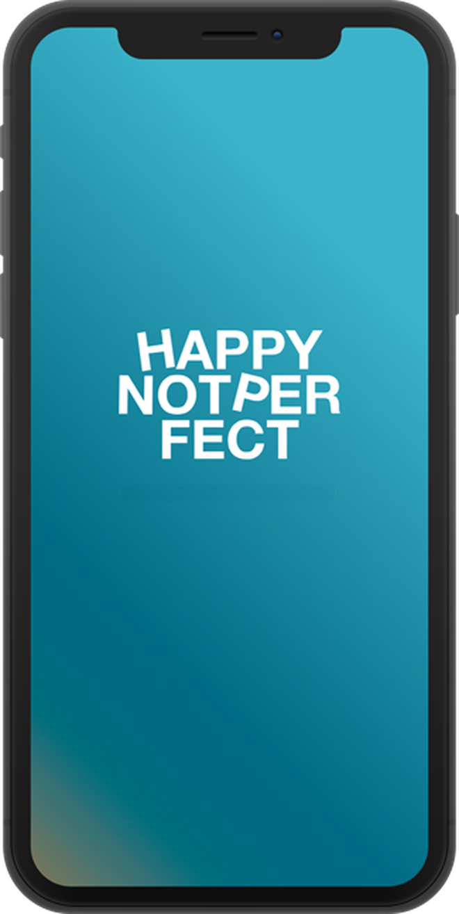 Many people are using the Happy Not Perfect App to decrease stress levels