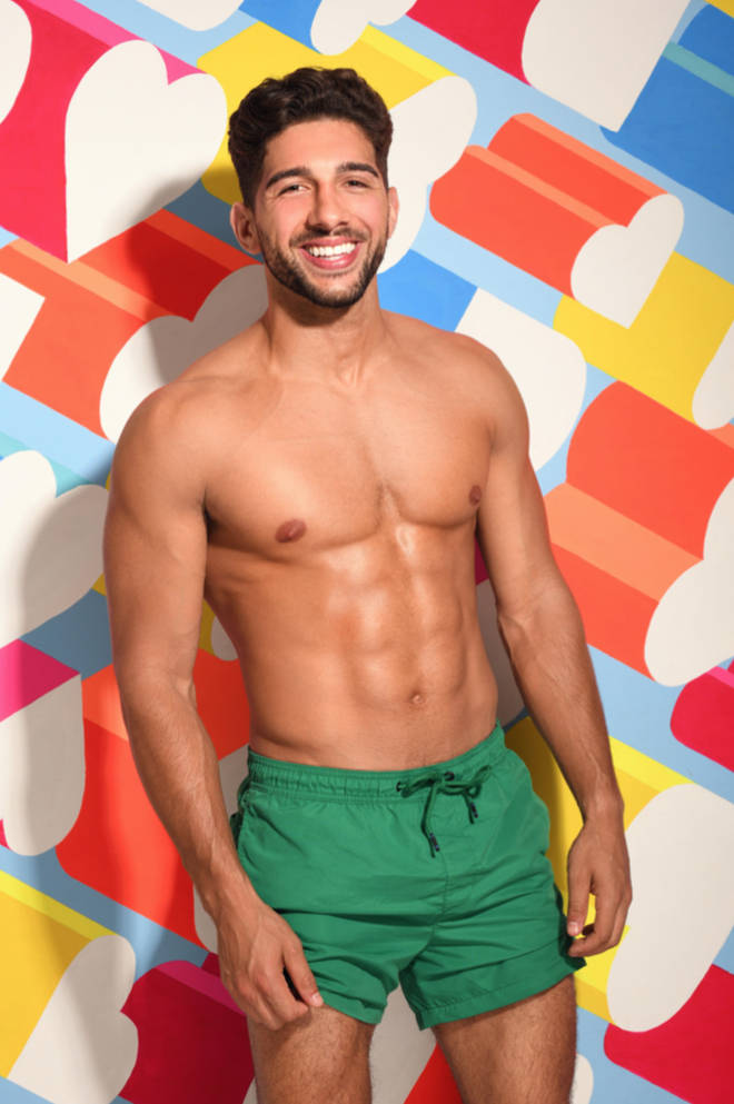 The 29-year-old is the personal trainer to I'm A Celeb winner Harry Redknapp.