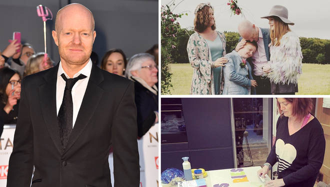 Jake Wood has given a glimpse of his family home