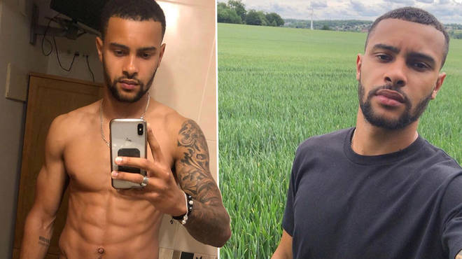 Professional footballer Dennon Lewis has confirmed he's in this year's Love Island line-up