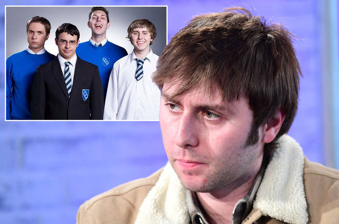 James Buckley has opened up about struggling with fame