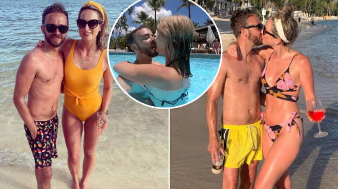 The Coronation Street star enjoyed a romantic getaway with his girlfriend Hanni Treweek on the Caribbean island earlier this month.