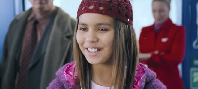 Olivia played Joanna on Love Actually back in 2003 when she was only 11 years old