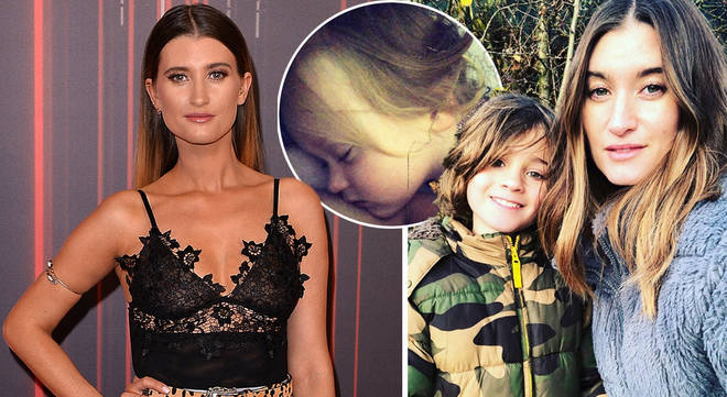 Charley Webb has hit back at parent-shamers