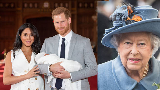 Meghan and Harry don't have full custody of baby Archie because of royal tradition