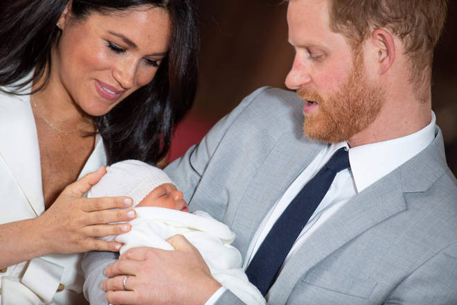 Meghan and Harry welcomed baby Archie earlier this year