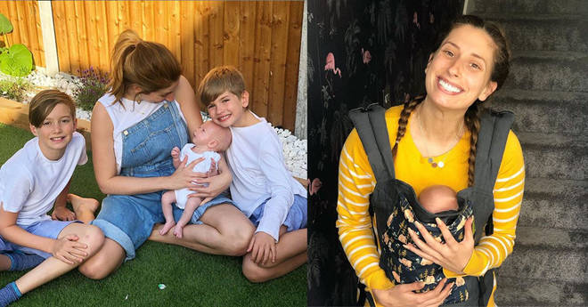 Stacey Solomon has spoke of her concerns about spending time in the heatwave with baby Rex