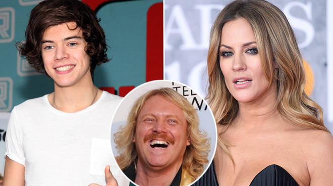 Caroline Flack gives awkward response as Keith Lemon asks her about Harry Styles relationship