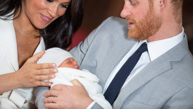 Meghan had Archie on May 6.