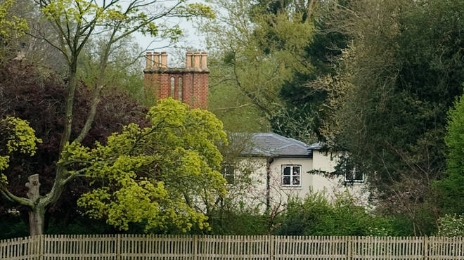 Frogmore Cottage, where the Sussex family plans to live.
