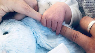 Mrs Hinch's public Instagram has only shared one, discreet photo of her newborn son.