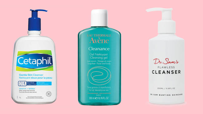These cleansers are all suitable for acne-prone skin