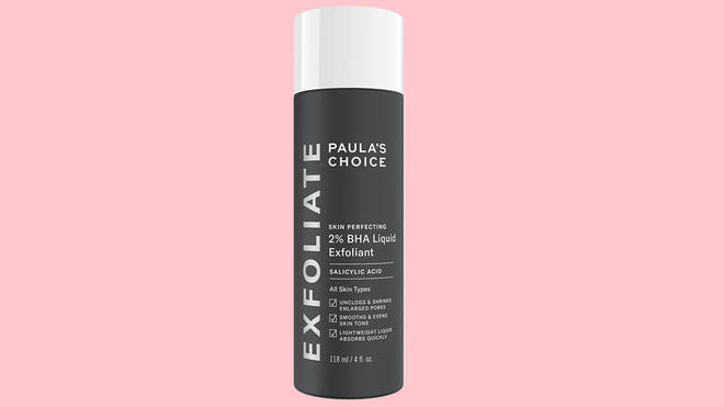 Use this acid exfoliant if you suffer from blemishes and blocked pores