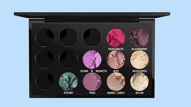 Fill your palette with your perfect shades on the MAC website or in store