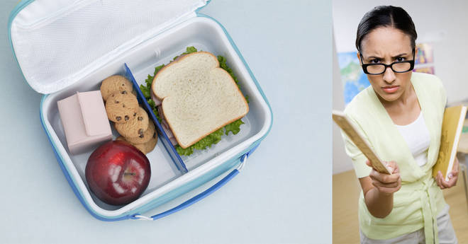 One mum has come under fire for her lunchboxes