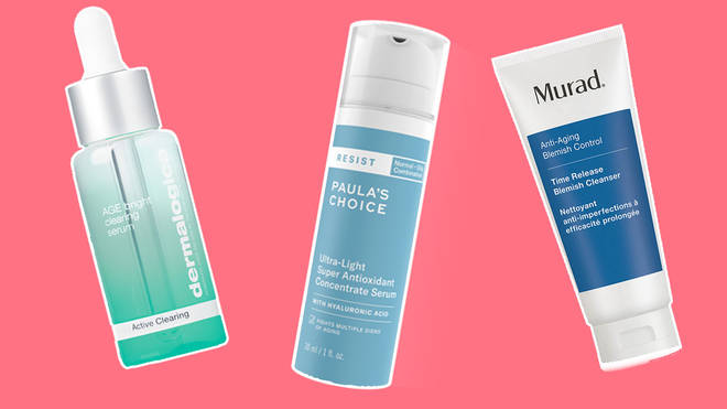 Having acne doesn't mean you can't use anti-ageing products