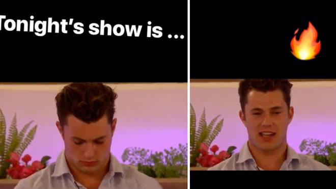 "Caroline teased the episode as ""fire"""