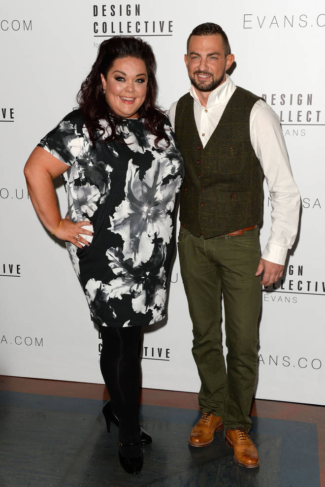 Lisa Riley was paired with Robin Windsor when she was on Strictly (pictured 2014)