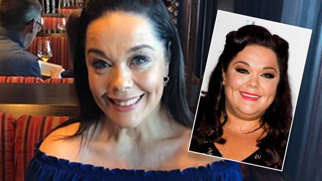 Lisa Riley is slimmer -and happier - than ever