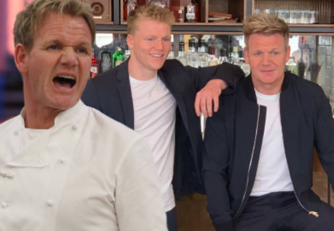 Gordon Ramsay revealed his worries about online safety during a recent interview with GQ.