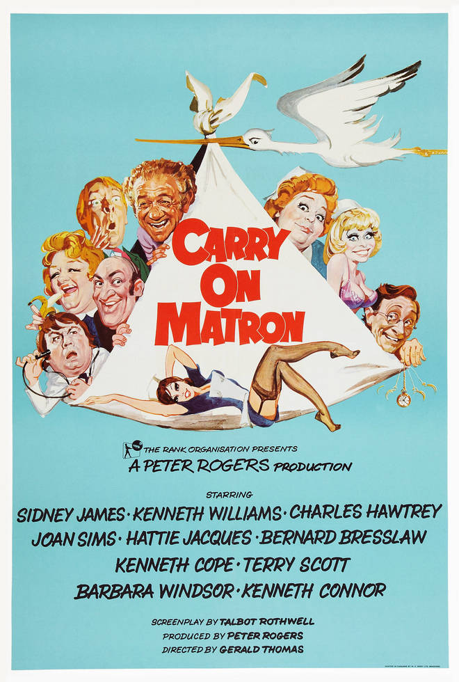 Carry On Matron was released in 1972