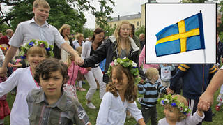 Here's how Midsummer is celebrated in Sweden