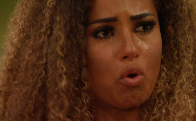 Amber is left in tears by Michael's decision