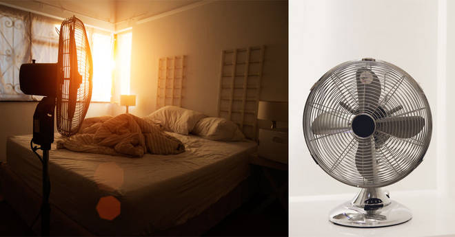 Sleeping with a fan could have negative impacts on your health
