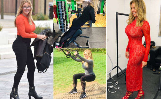 Carol Vorderman has opened up about her intense workout routine, which helps her to maintain her 25-inch waist and perfect bum.