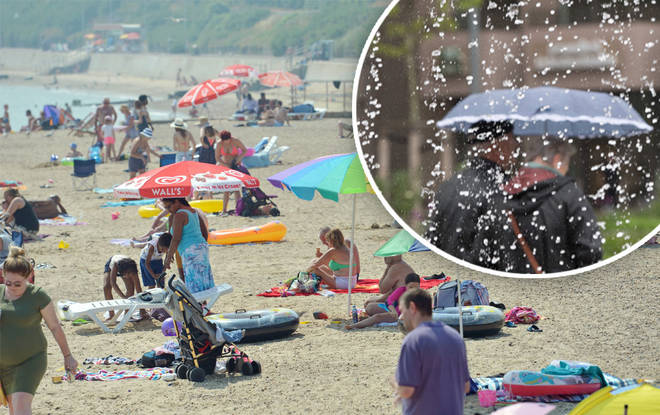 Brits should expect an end to the heatwave very soon