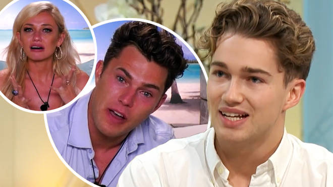 Curtis' brother and Strictly Come Dancing star AJ Pritchard has issued a warning to his brother, offering his own opinion on the situation