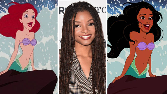 Halle Bailey has been cast as Ariel in the live-action remake of The Little Mermaid